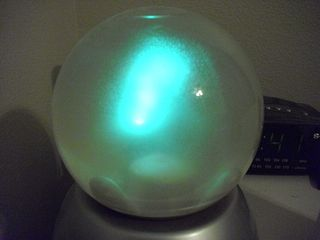 Crystal ball blue